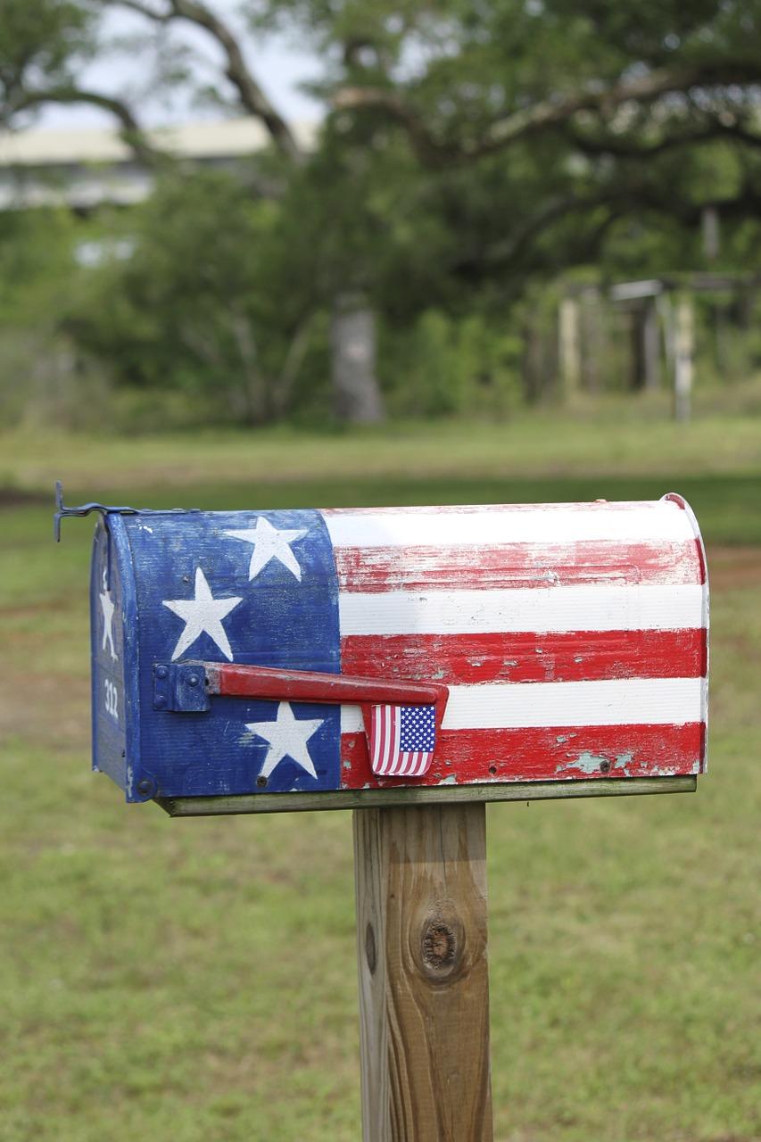 brievenbus USA
